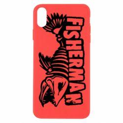 Чохол для iPhone Xs Max Fisherman