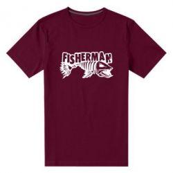 Чоловіча стрейчева футболка Fisherman