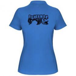 Жіноча футболка поло Fisherman
