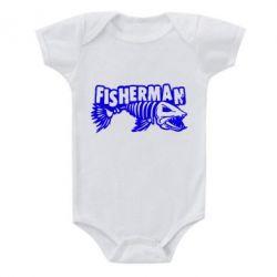 Дитячий бодік Fisherman