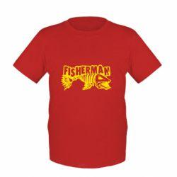 Дитяча футболка Fisherman