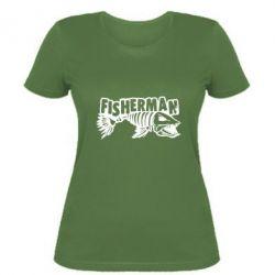 Жіноча футболка Fisherman
