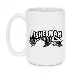 Кружка 420ml Fisherman