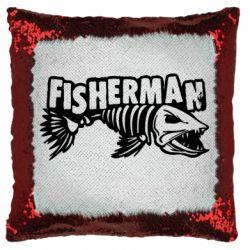 Подушка-хамелеон Fisherman