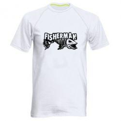 Чоловіча спортивна футболка Fisherman