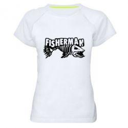 Жіноча спортивна футболка Fisherman