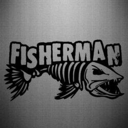 Наклейка Fisherman