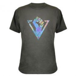 Камуфляжна футболка Fist greeting Detroit: Become human Голограмма