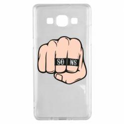 Чехол для Samsung A5 2015 Fist with rings SONS