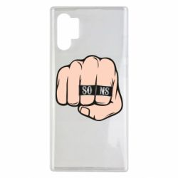Чехол для Samsung Note 10 Plus Fist with rings SONS