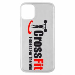Чехол для iPhone 11 Pro Fitness For The Win Crossfit