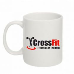 Кружка 320ml Fitness For The Win Crossfit - FatLine