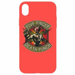 Чехол для iPhone XR Five finger death punch