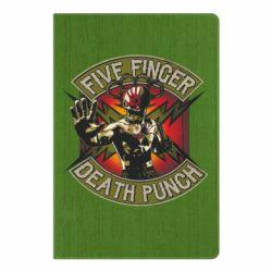 Блокнот А5 Five finger death punch