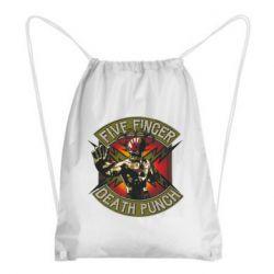 Рюкзак-мешок Five finger death punch