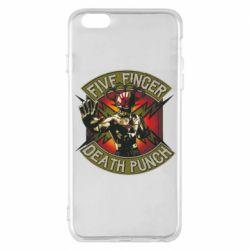 Чехол для iPhone 6 Plus/6S Plus Five finger death punch