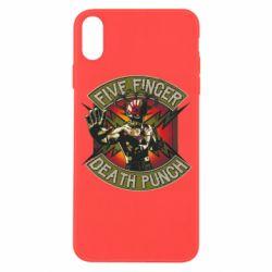 Чехол для iPhone X/Xs Five finger death punch
