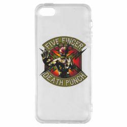 Чехол для iPhone5/5S/SE Five finger death punch