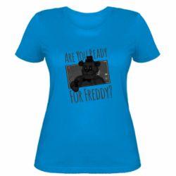 Женская футболка Five Nights at Freddy's 1