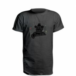 Удлиненная футболка Five Nights at Freddy's 1