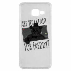 Чехол для Samsung A3 2016 Five Nights at Freddy's 1