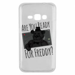 Чехол для Samsung J1 2016 Five Nights at Freddy's 1