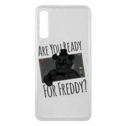 Чехол для Samsung A7 2018 Five Nights at Freddy's 1