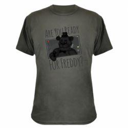 Камуфляжная футболка Five Nights at Freddy's 1