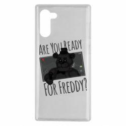 Чехол для Samsung Note 10 Five Nights at Freddy's 1