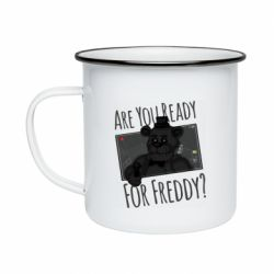 Кружка эмалированная Five Nights at Freddy's 1