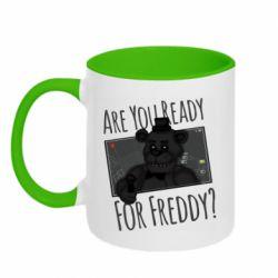 Кружка двухцветная 320ml Five Nights at Freddy's 1
