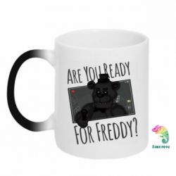 Кружка-хамелеон Five Nights at Freddy's 1