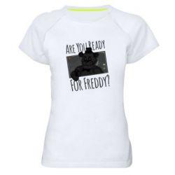 Женская спортивная футболка Five Nights at Freddy's 1