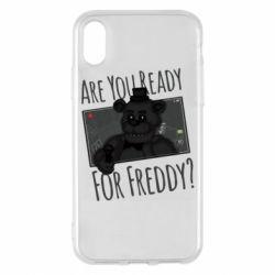 Чехол для iPhone X/Xs Five Nights at Freddy's 1