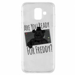 Чехол для Samsung A6 2018 Five Nights at Freddy's 1
