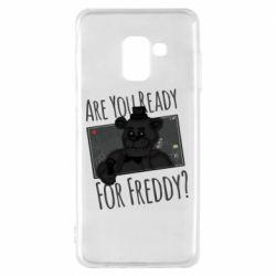Чехол для Samsung A8 2018 Five Nights at Freddy's 1