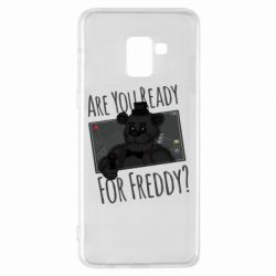 Чехол для Samsung A8+ 2018 Five Nights at Freddy's 1