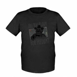 Детская футболка Five Nights at Freddy's 1