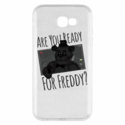 Чехол для Samsung A7 2017 Five Nights at Freddy's 1
