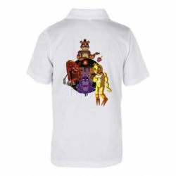 Дитяча футболка поло Five Nights At Freddy's