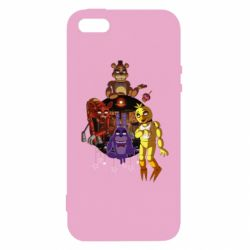 Чохол для iphone 5/5S/SE Five Nights At Freddy's