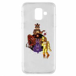 Masha, Чехол для Samsung A6 2018 Five Nights At Freddy's, FatLine  - купить со скидкой