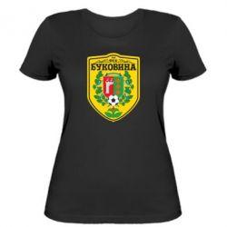 Женская футболка ФК Буковина Черновцы - FatLine