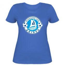 Женская футболка ФК Днепр - FatLine