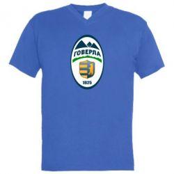 Мужская футболка  с V-образным вырезом ФК Говерла Ужгород - FatLine