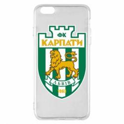 Чехол для iPhone 6 Plus/6S Plus ФК Карпаты Львов - FatLine