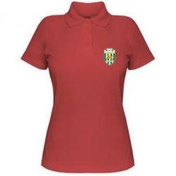 Женская футболка поло ФК Карпаты Львов - FatLine