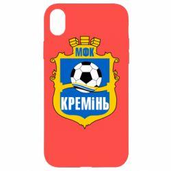 Чехол для iPhone XR ФК Кремень Кременчуг - FatLine