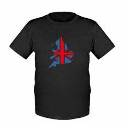 Детская футболка Флаг Англии - FatLine