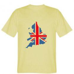 Мужская футболка Флаг Англии - FatLine